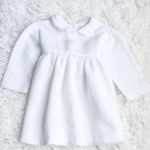 Soft whits collared dress